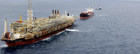 Bacia de Santos: Principais Operações   Petrobras